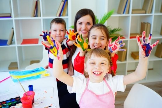 Home early childhood Maison Bleue